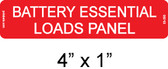 Battery Essential Loads Panel - Item #03-350