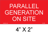 Parallel Generation on Site Placard - 04-426