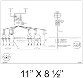 "Solar Line Diagram - 11"" x 8 1/2"" - Item #07-640L"