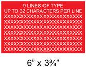 "Solar Warning Placard - 6"" x 3 3/4"" - 1/4"" Letters - Custom - Item #04-709"