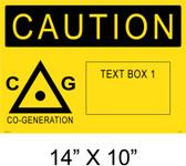 "Solar Warning Placard - 14"" x 10"" - Item #14-400"