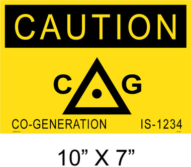 "Solar Warning Placard - 10"" x 7"" - Item #14-403"