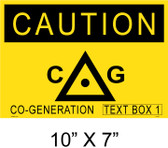 "Solar Warning Placard - 10"" x 7"" - Item #14-403"