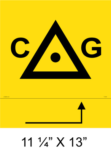 "Solar Warning Placard - 11 1/4"" x 13 - Item #14-550"
