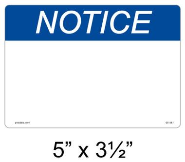 """Solar Warning Label - 5"""" x 3 1/2"""" - Custom - Item #05-561"""