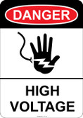 Danger (hand symbol) High Voltage, #53-102 thru 70-102