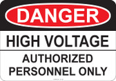 Danger High Voltage, #53-105 thru 70-105