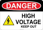 Danger High Voltage, #53-109 thru 70-109
