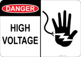 Danger High Voltage, Shocked Hand #53-115 thru 70-115