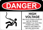 Danger Shocked Man, High Voltage  #53-118 thru 70-118