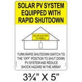 Solar PV System Equipped With Rapid Shutdown- Item #05-112