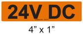 24V DC - PV Labels #30-010