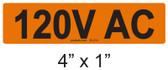 120V AC - PV Labels #30-214
