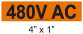 480V AC - PV Labels #30-240