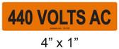 440 VOLTS AC - PV Labels #30-336