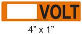 Write in VOLT Label - PV Labels #30-552