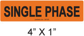 SINGLE PHASE - PV Labels #30-520