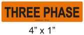THREE PHASE - PV Labels #30-522