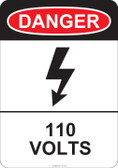 Danger 110 Volts, #53-216 thru 70-216