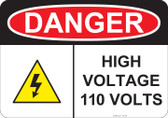 Danger High Voltage - #53-236 thru 70-236