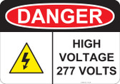 Danger High Voltage - #53-238 thru 70-238