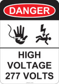 Danger High Voltage, #53-243 thru 70-243