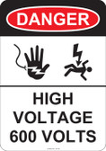 Danger High Voltage, #53-245 thru 70-245