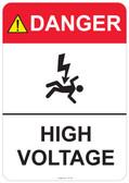 Danger High Voltage, #53-303 thru 70-303