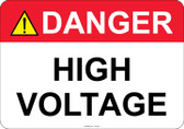 Danger High Voltage - #53-307 thru 70-307