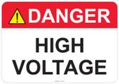 Danger High Voltage - #53-307 thru 70-307