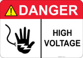 Danger High Voltage - #53-311 thru 70-311