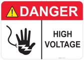Danger High Voltage - #53-311 thru 70-311