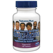 Nature's Plus Adult Active 60 Tablets #3006