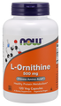 Now Foods L-Ornithine 500 mg 120 Capsules #0122