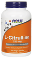 Now Foods L-Citrulline 750 mg 180 Capsules #0103