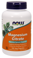 Now Foods Magnesium Citrate 120 Vegetarian Capsules #1294