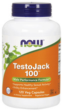 Now Foods TestoJack 100 120 Vegetarian Capsules, SKU2138