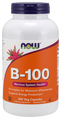 Now Foods Vitamin B-100 High Potency B Complex 250 Capsules