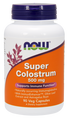 Now Foods Super Colostrum 500mg 90 Vegetarian Capsules #3232