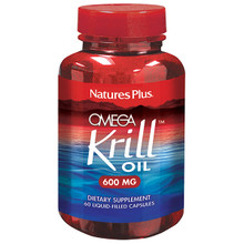 Nature's Plus Omega Krill Oil 600 MG Liquid 60 Capsules #3972