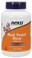Now Foods Red Yeast Rice 1200mg 120 Tablets #3503