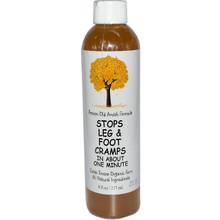 Caleb Treeze Organic Farm Stops Leg & Foot Cramps 8oz #0200