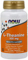 Now Foods Theanine 100 mg 90 Vcaps #0145