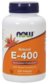 Now Foods Vitamin E400 IU 250 Softgels