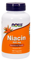 Now Foods Niacin 500 mg 100 Capsules #0481