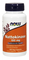 Now Foods Nattokinase 100 mg 120 Vcaps #3141