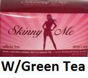 Chiro Klenz Skinny Me Colon Cleanse Tea W/ Green Tea
