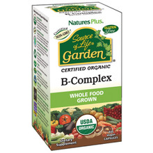 Nature's Plus Source of Life Garden B Complex 60 Vegan Capsules