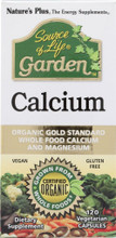 Nature's Plus Source of Life Garden Calcium Vcaps w/AlgaeCal