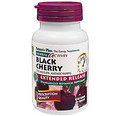 Nature's Plus Herbal Actives Black Cherry Extended Release 750 mg 30 Vegetarian Tablets #7312